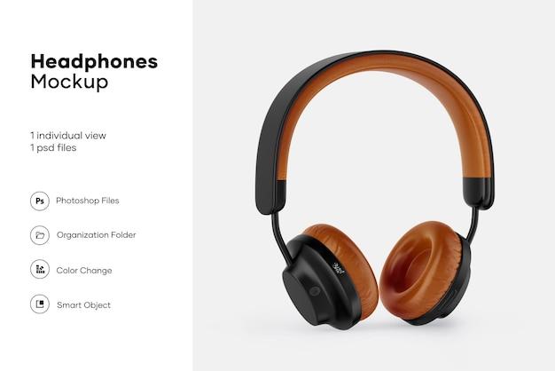Mockup de fones de ouvido