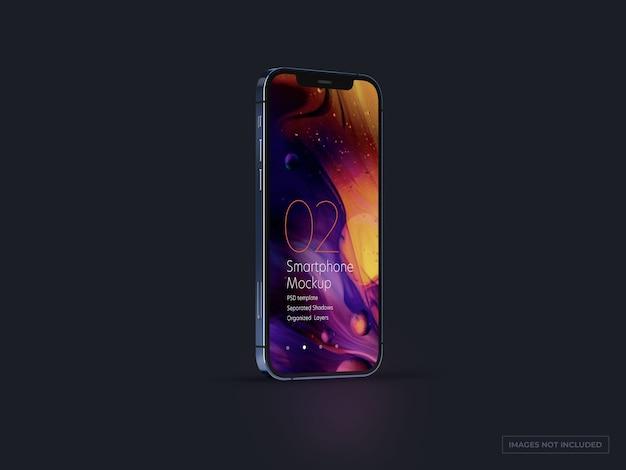 Mockup de smartphone para designs de iu