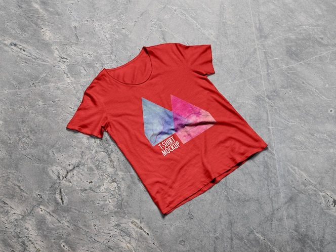Mockup de t-shirt dos homens