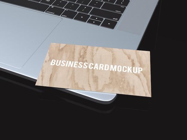 Mockup do cartão de visita