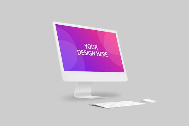 Mockup do mobile desktop