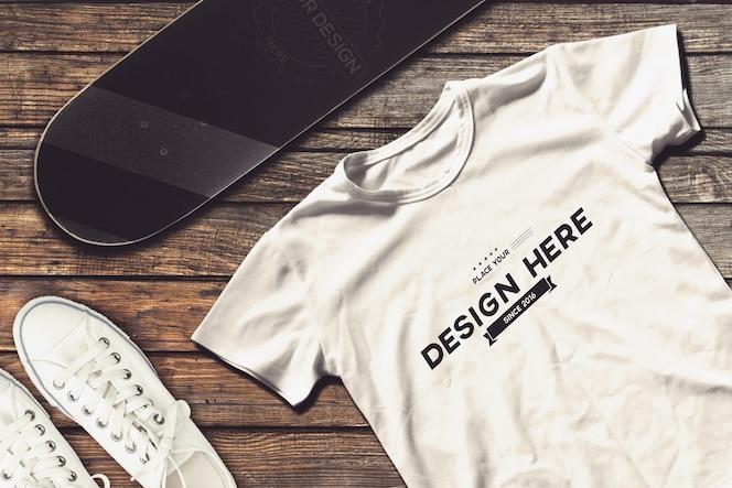 Mockup do t-shirt