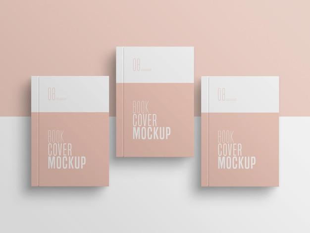 Mockup múltiplo de capa de livro