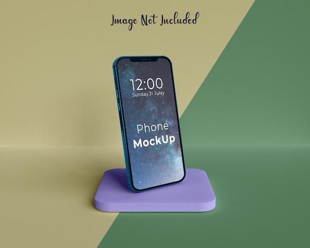 Mockup personalizável para telefone