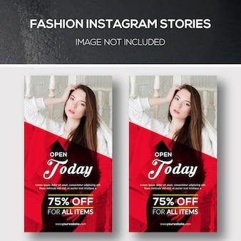 Moda instagram histórias
