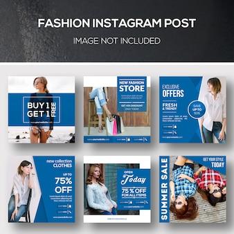 Moda instagram post Psd Premium