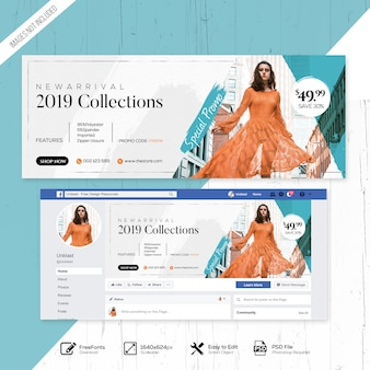 Moda venda web mídia social facebook