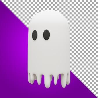 Modelagem 3d fantasma recurso halloween