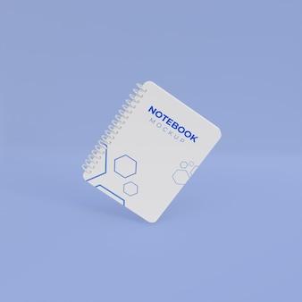 Modelo 3d realista para notebook
