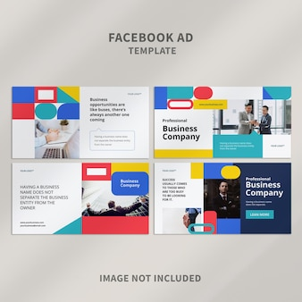 Modelo de anúncio de facebook 08 Psd Premium