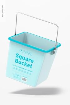 Modelo de balde quadrado, flutuante