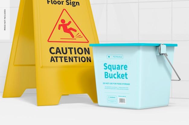 Modelo de balde quadrado, perspectiva