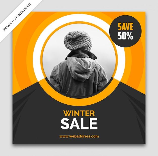 Modelo de banner de venda dinâmica