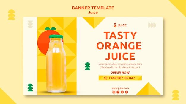 Modelo de banner juice