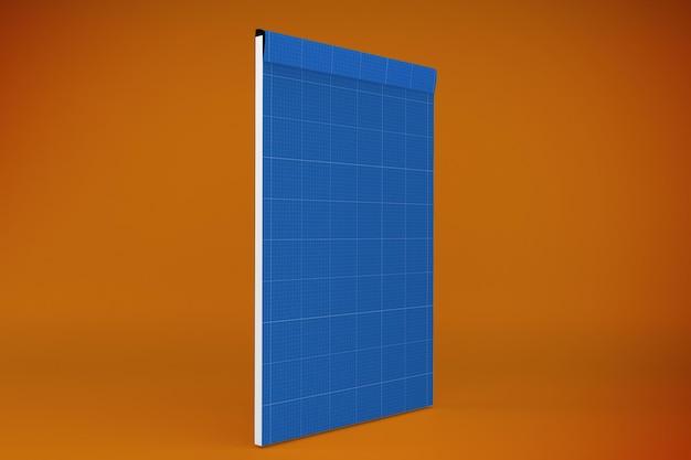 Modelo de bloco de notas