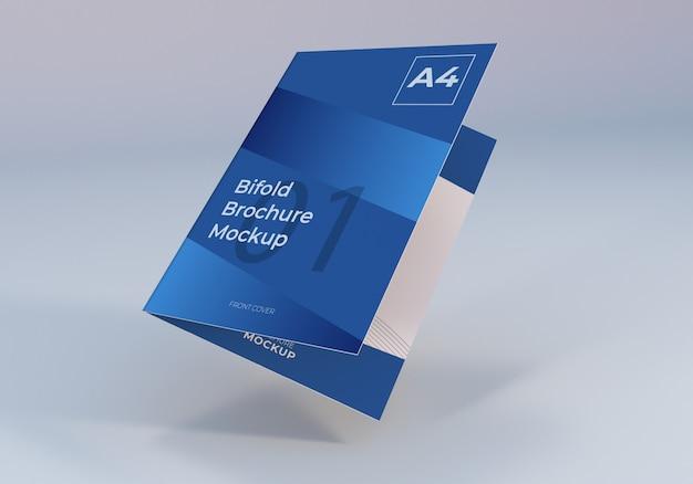 Modelo de brochura - bifold flutuante Psd Premium