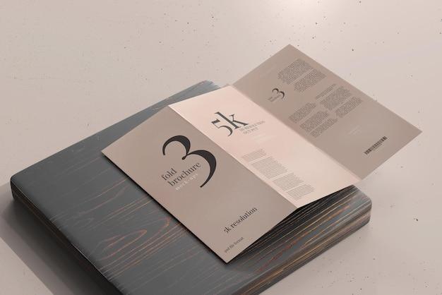 Modelo de brochura dl size trifold