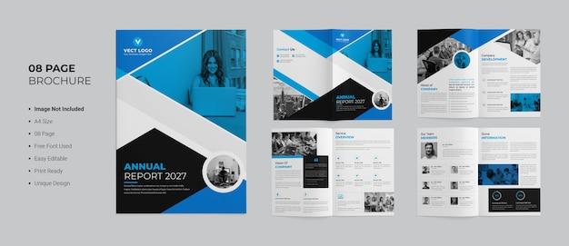Modelo de brochura - relatório anual
