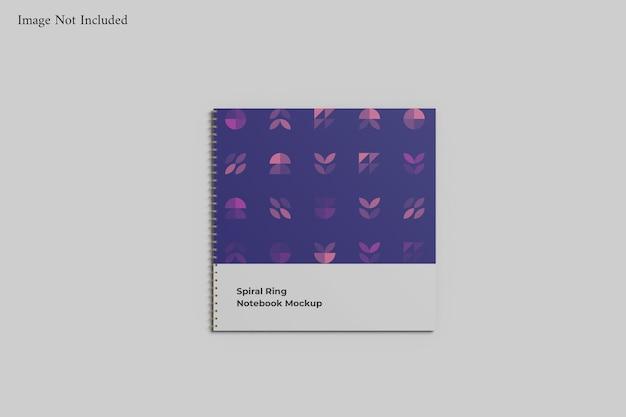 Modelo de caderno espiral