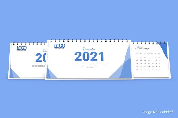 Modelo de calendário de mesa de negócios dl landscape