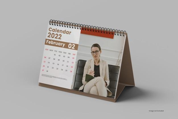 Modelo de calendário de mesa