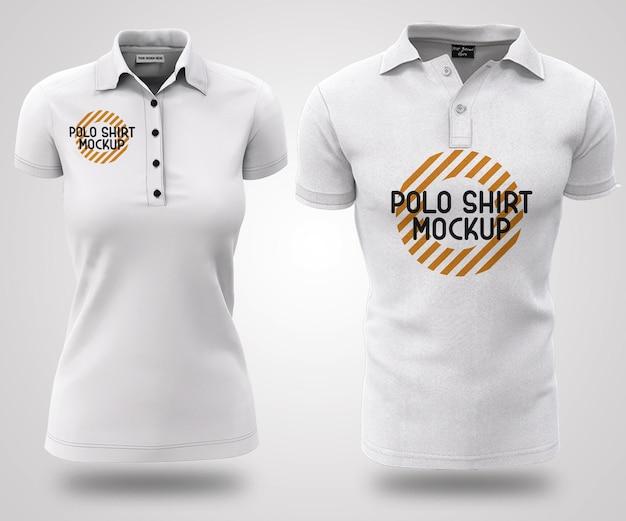 Modelo de camisa preta e branca