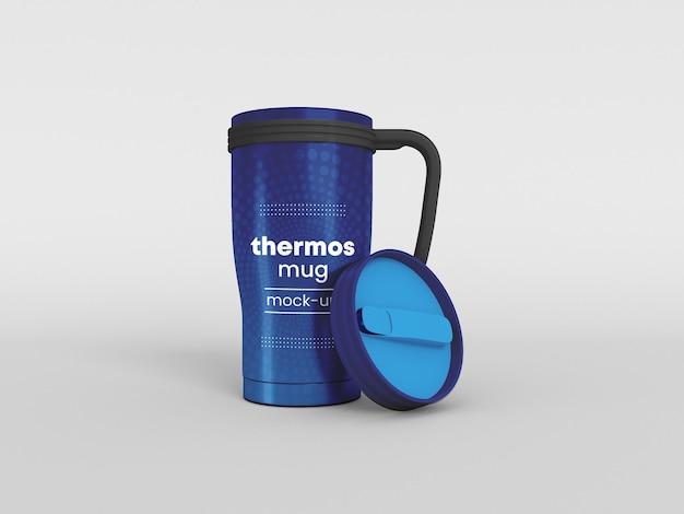 Modelo de caneca térmica