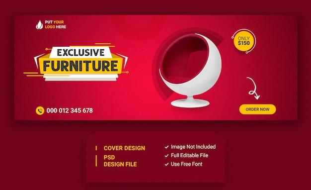 Modelo de capa para venda de móveis no instagram e facebook