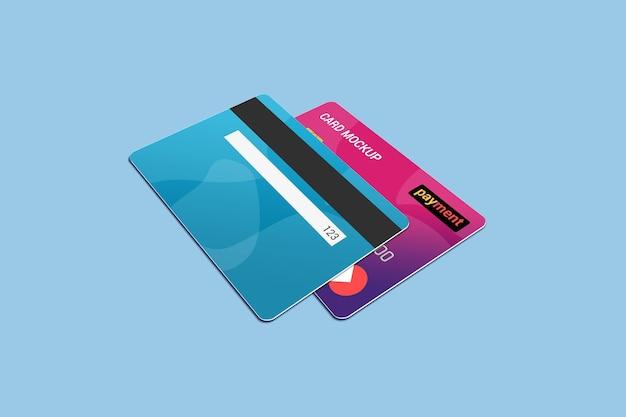 Modelo de cartão de crédito de cartão inteligente de débito