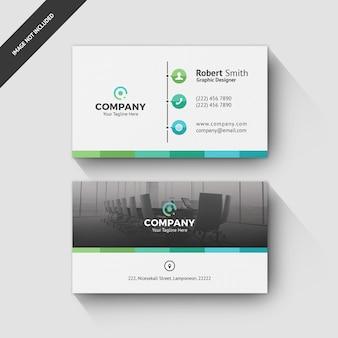 Modelo de cartão de negócios 0052