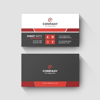 Modelo de cartão de negócios 0070
