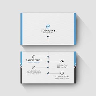 Modelo de cartão de negócios 0076