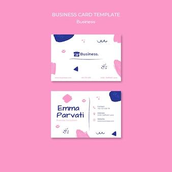 Modelo de cartão de visita de consultor