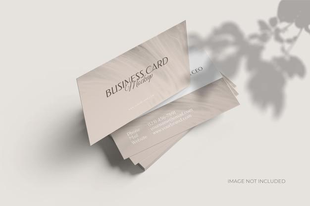 Modelo de cartão de visita de visita minimalista