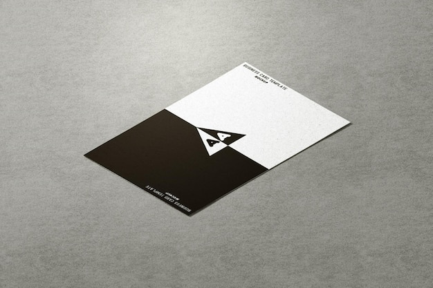 Modelo de cartão de visita elegante Psd Premium