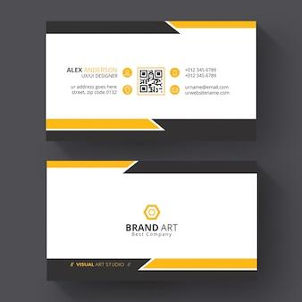 Modelo de cartão de visita para negócios