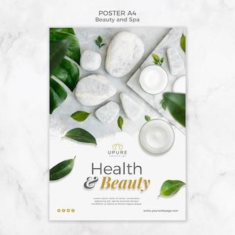 Modelo de cartaz - beleza e spa