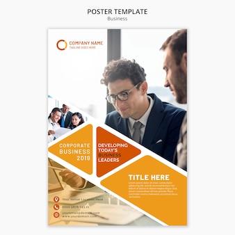 Modelo de cartaz de negócios