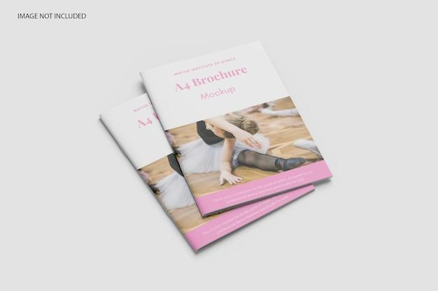 Modelo de catálogo de brochura