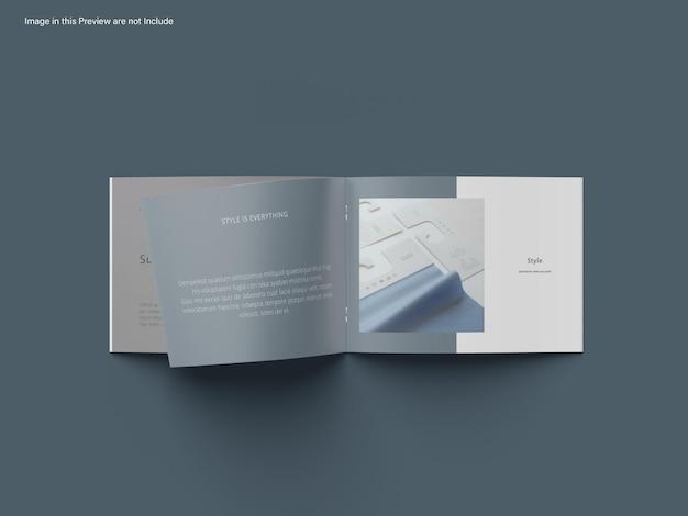 Modelo de catálogo de paisagem a4