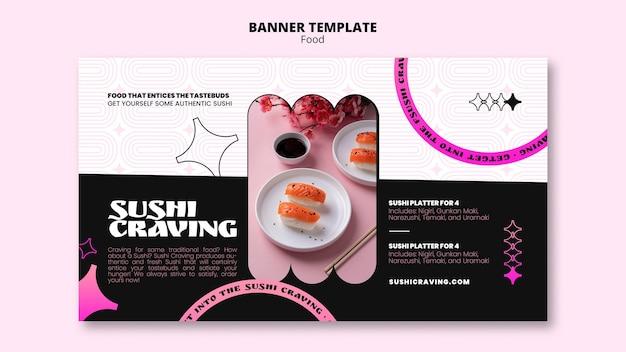 Modelo de comida art déco em néon pastel