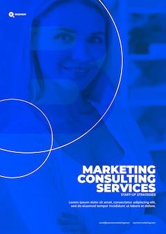 Modelo de conteúdo de marketing da empresa
