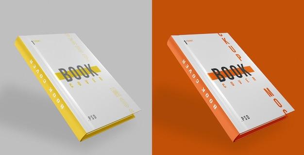 Modelo de design da capa do livro psd