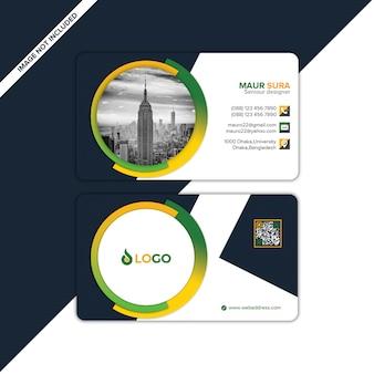 Modelo de design de cartão de visita