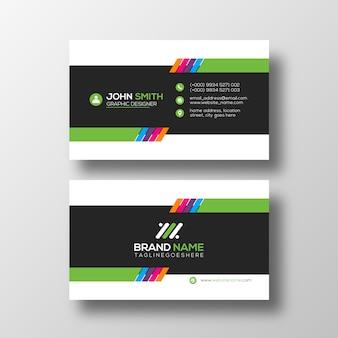 Modelo de design de cartão profissional