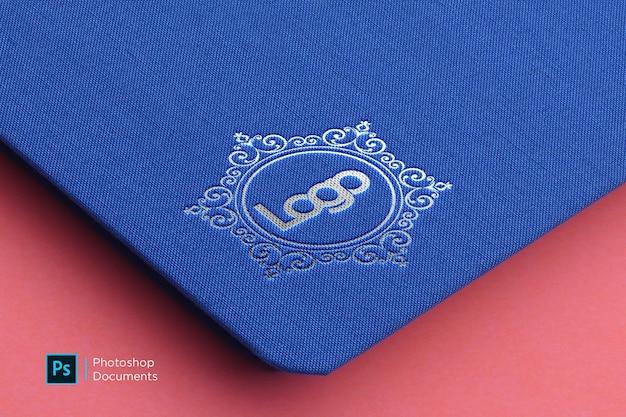 Modelo de design de maquete de logotipo Psd Premium