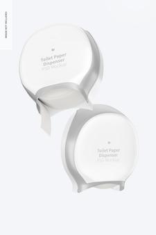 Modelo de dispensador de papel higiênico, flutuante