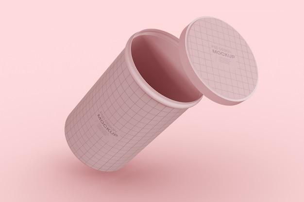 Modelo de embalagem de latas