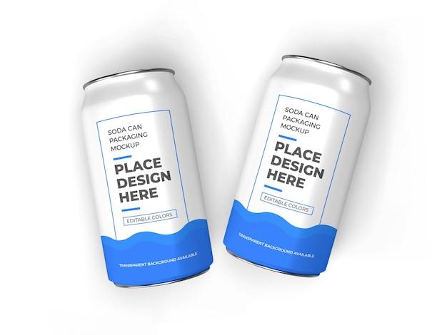 Modelo de embalagem de refrigerante