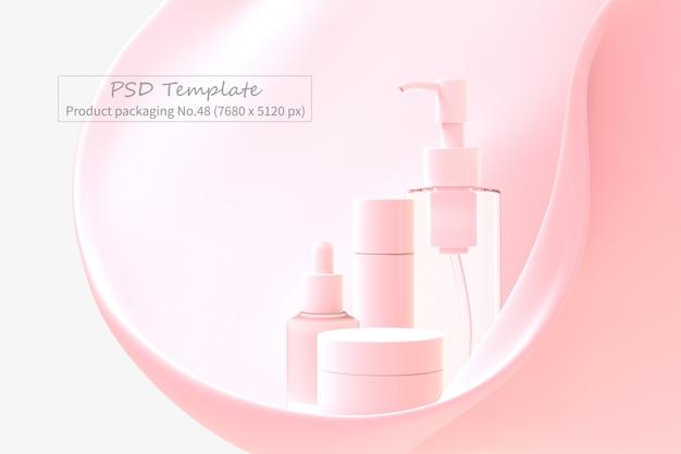 Modelo de embalagem do produto psd